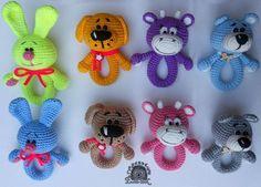 Sonajeros - pequeños animales - mi povyazushki - Galería - admiradores amigurumi (juguetes de punto)