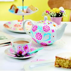 Add retro charm to your afternoon tea with POSCA pens