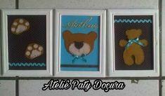 Quadrinhos decorativo. Ursinho