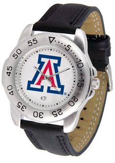 Xavier Musketeers - SportMen's Sport Leather Watch by Suntime This handsome, eye-catching classic watch comes with a genuine leather strap. A date calendar fu Fitness Watch, Mens Fitness, Mens Sport Watches, Watches For Men, San Diego, Sporty Watch, Oklahoma State Cowboys, Ohio, Fresno State