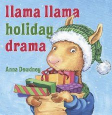 Popsicle stick ornaments about what's really important at Christmas. A fun preschool or kindergarten craft that goes with a holiday Llama Llama book.