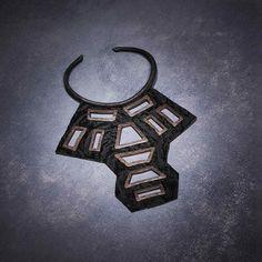 Cut-Out Warrior Necklace – Urban Zen