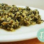 Σπανάκι με Πλιγούρι Λεμονάτο