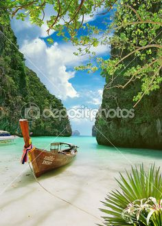 тропический рай — Стоковое фото © VLukas #10137568
