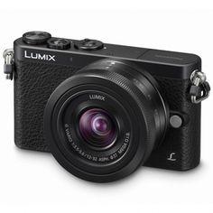 Panasonic Lumix DMC-GM1 + 12-32/3.5-5.6 OIS -järjestemäkamera, musta