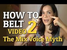 Video 2 in my 'How To Belt If You're Not A Natural Belter' singing tutorial series. We look at the Mixed Voice and how you can belt without worry about it. Singing Lessons, Singing Tips, Vocal Lessons, Singing Quotes, Music Lessons, Art Lessons, Singing Exercises, Vocal Exercises, Vocal Training