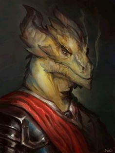 Character Art: Dragonkin/Dragonborn/Etc