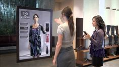 See how technology can change the future of shopping. Shop via a screen, touchpad, and try on clothes virtually. It's all in the near future, thanks to techn...
