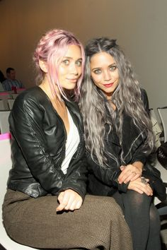 Pink Hair. Grey Hair. The Olsen Twins || Mary Kate and Ashley #muse | The Good Hacienda | curated by Hilary