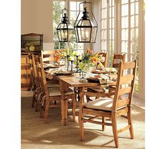 Inspiration from Farmhouse Style: br /10 Things I Love -dining room lighting