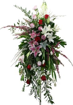 easil cross floral arrangement - Google Search