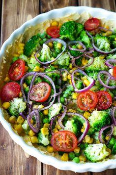 Mozzarella, Vegetable Pizza, Cobb Salad, Sprouts, Vegan, Vegetables, Recipes, Food, Lucca