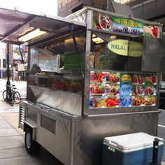 20th and market halal food cart in Philly