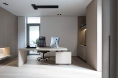 FARUK GROUP HOLDING – STUDIO M Ceo Office, Executive Office, Home Office, Office Desk, Office Spaces, Modern Office Design, Office Interior Design, Office Interiors, Office Designs