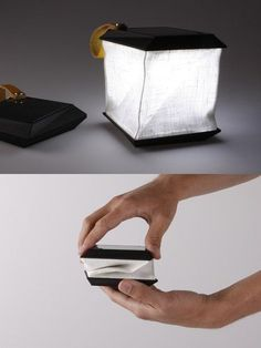Soul Cell - solar power portable lamp by Jesper Jonsson