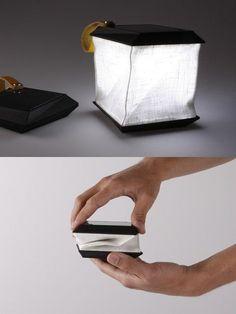 Soul Cell - solar power portable lamp by Jesper Jonsson
