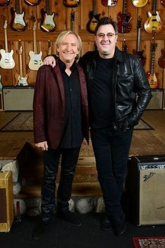 On the eve of the Feb. 12 release of his epic new album, Down To My Last Bad Habit, Vince journeyed to Los Angeles to be inducted into the Guitar Center's historic RockWalk by one of his guitar gods, the Eagles' Joe Walsh.