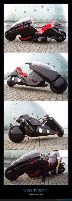 La moto de Akira, muy cerca de hacerse realidad - Cada día más cerca