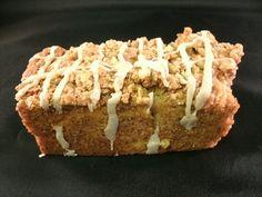 Apple bread Cinnamon Sugar topped Homemade by BeckeysKountryStore