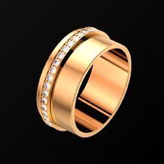 Pink gold Diamond Ring - Piaget Luxury Jewellery G34PR200