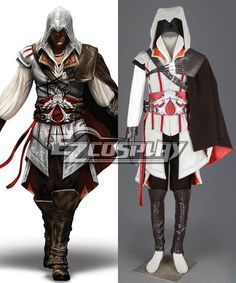 assassin's creed sewing patterns top | Assassin's Creed II Ezio Cosplay Costume - Deluxe Version