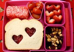 Valentine Lunch by Bunches and Bits {Karina}, via Flickr