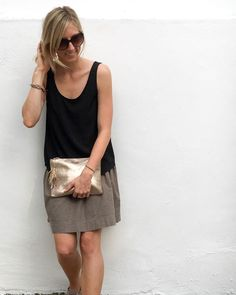 Looking for your next project? You're going to love Basics Tank . womens by designer Cali Faye Collection.