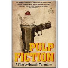 Art Stick Exclusive Pulp Fiction Poster - Add oodles of style to your home with an exciting range of designer furniture, furnishings, decor items and kitchenware. We promise to deliver best quality products at best prices.