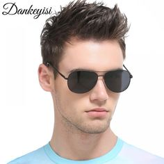 SAYEI Unisex Square Retro Polarized Fashion Over-sized For Men Women Sunglasses