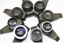 8in1 Circular Polarizing Spark Filter Lens kit for GalaxyS2 S3 iPhone5 5S 5C 4S