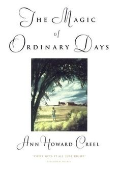 The Magic of Ordinary Days  What my copy looks like...