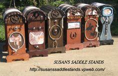 Custom designed Saddle Stand by SusansSaddleStands on Etsy, $225.00