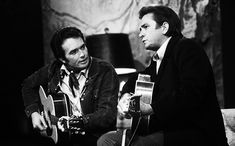 Merle Haggard's Life in Pictures | Merle Haggard on <em>The Johnny Cash Show</em> on August 2, 1969 | EW.com