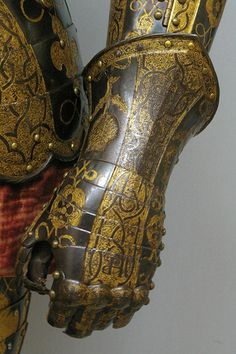 Gauntlet, Armor of Sir George Clifford, Third Earl of Cumberland  England…