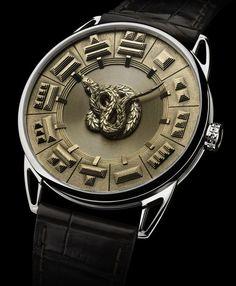 Horological Serpent Db25 Quetzalcoatl By De Bethune 2