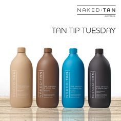 TAN TIP TUESDAY! During the winter months, choose a lighter shade than you would in Summer and Spring to achieve a natural looking tan. Naked Tan has 4 spray tan shades available to suit all skin types from fair to olive. Ask your beauty therapist for a colour consultation to help you find the best shade for your skin type or even mix solutions for a more personalised tan. www.nakedtan.com.au