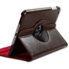 This soft leather case unique design provides stylish personalization for your iPad Mini. This high quality protective case shields your iPad Mini from daily wear and tear such as scratches and bumps. The most attractive point is that it can 360° Rotating stand up and provide your iPad Mini at a standing angle for Watching videos. Dress up your device and make it stand out from the crowd with this trendy case!     Brand new and high quality Stylish 360° Rotating Soft Leather Smart Cover For…