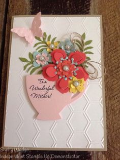 Stampin' Up! Botanical Bloom, builder, Mothers Day