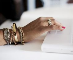 8 of our fav layered bracelets