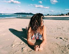 @dulceida in the new Out of the Blue high neck tank ~ Get her style online now, shop the link in our bio  #Seafolly #beach #bikini