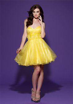 Que tal um vestido amarelo?