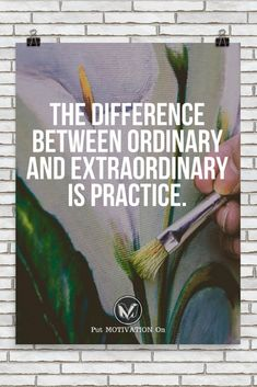 My god. I want to be extraordinary.