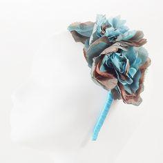 opaska jedwabne róże Pinalu