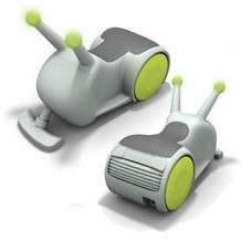 Riding Vacuum Cleaner - Great Idea! Fun for the kids and help for the momma