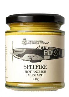 Spitfire Hot English Mustard 190g