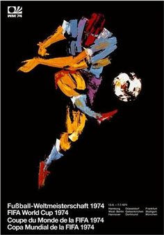 1974 FIFA World Cup West Germany, official poster
