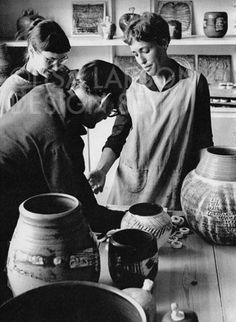 Stig Lindberg, Lisa Larsson and Britt-Louise Sundell 1962