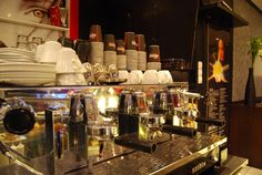 Coffe machine in Cafe Brasco! Check out their page; http://cafebrasco.se #coffe #cafe #brasco #food #love #nice