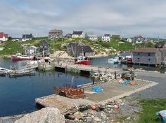Halifax, Nova Scotia Canada.  Such an amazing place everything looked like a picture.  This is Peggys Cove.  cool place.