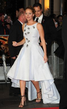 Jennifer Lawrence - Premiere of 'The Hunger Games: Mockingjay Part 1' in London - 10/11/2014